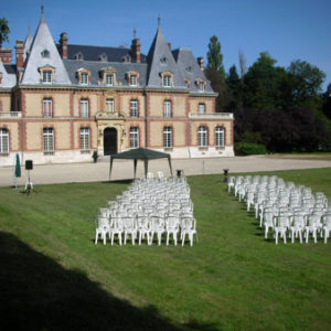 photo mariage au château des boulard