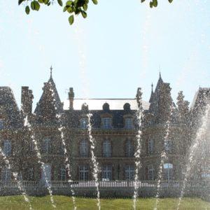 Château des boulard et fontaines