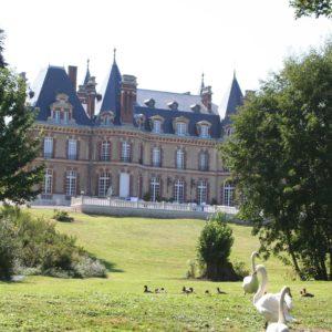 Château des boulard  et le parc