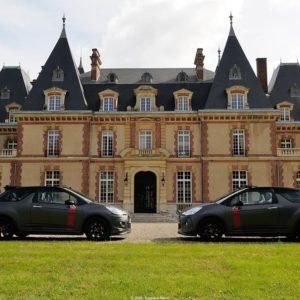 expo Citroën ds3 au château des boulard