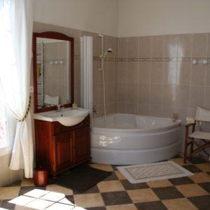 sallle de bain du château des boulard