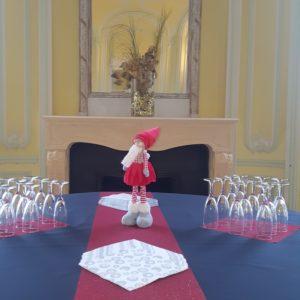 présentation de table au château des Boulard