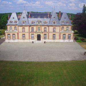 face avant du château des Boulard